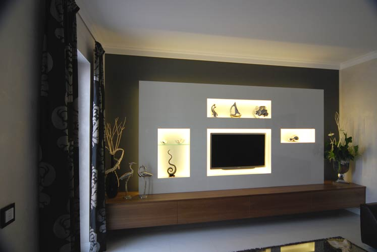 tv wand ohne bohren m bel design idee f r sie. Black Bedroom Furniture Sets. Home Design Ideas